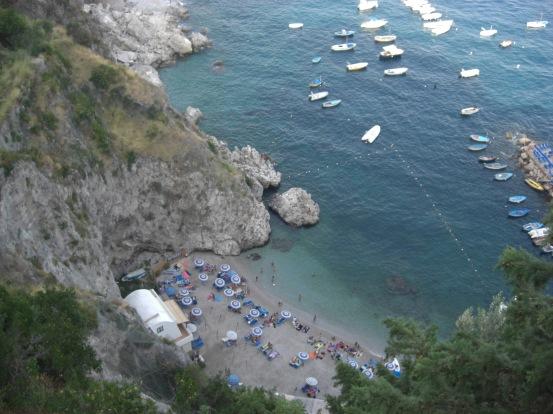 Ravello beach spiaggia