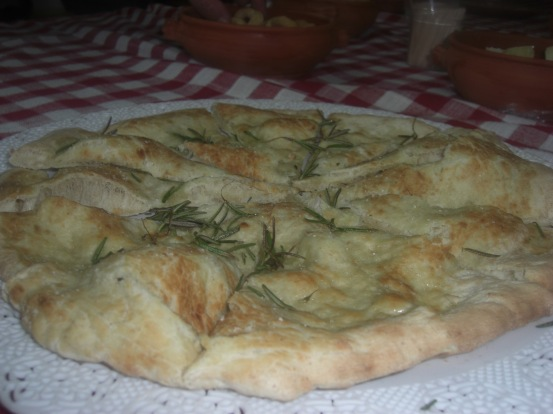 Chilli and rosemary foccaccia