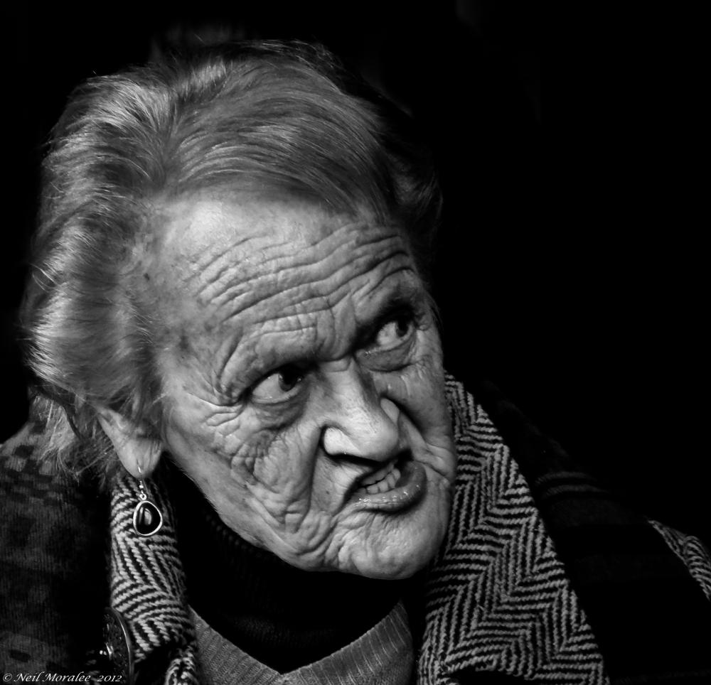 Grumpy Italian Grandmother